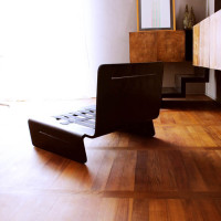 divanetto nero